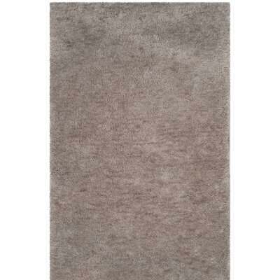 Detweiler Hand-Tufted Gray Area Rug Rug Size: Rectangle 4 x 6