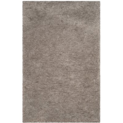 Detweiler Hand-Tufted Gray Area Rug Rug Size: Rectangle 5 x 8