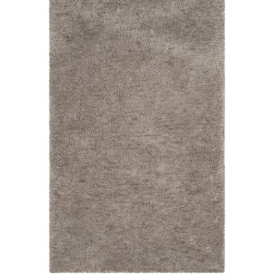 Detweiler Hand-Tufted Gray Area Rug Rug Size: Rectangle 8 x 10
