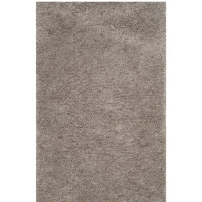Detweiler Hand-Tufted Gray Area Rug Rug Size: 3 x 5