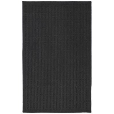 Cherwell Black Area Rug