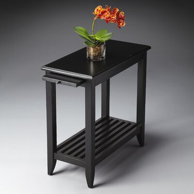 Adalaide End Table Finish: Distressed Black Licorice