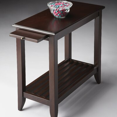 Adalaide End Table Finish: Merlot