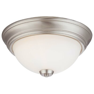 Parish 2-Light Flush Mount