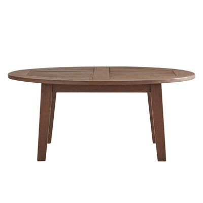 Brook Hollow Round Coffee Table Finish: Brown