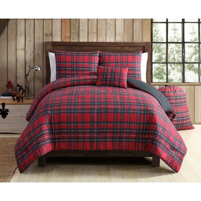 Tartan Plaid Comforter Set