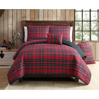 Tartan Plaid Quilt Set