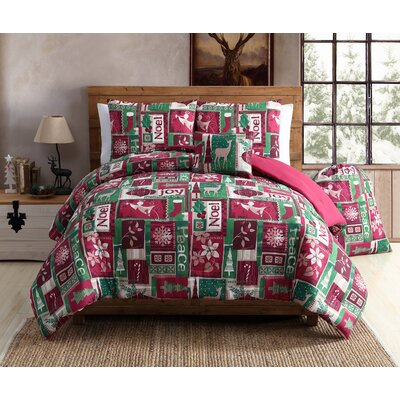 Holiday Patch Comforter Set Size: Full/Queen