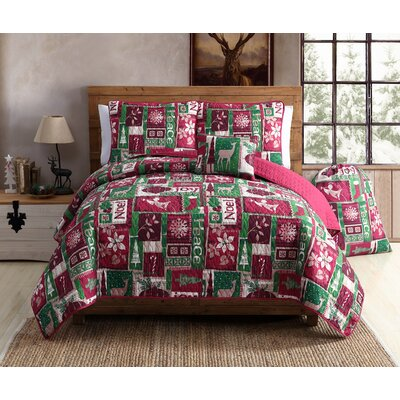 Holiday Patch Quilt Set Size: Twin XL