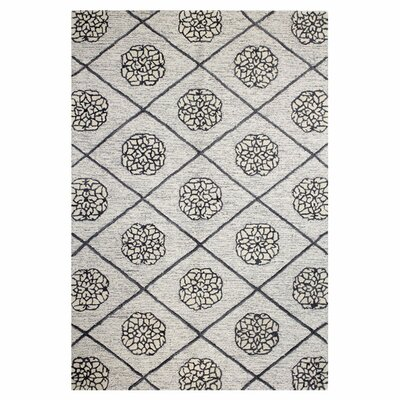 Dewald Light Ivory Area Rug Rug Size: Runner 26 x 8