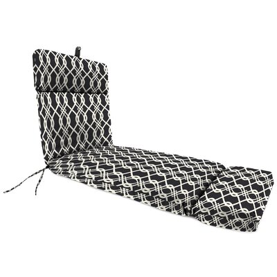 Outdoor Chaise Lounge Cushion Fabric: Hedda Tuxedo