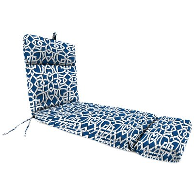 Polyester Outdoor Chaise Lounge Cushion Fabric: Greystone Marine