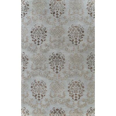 Masonville Hand-Tufted Light Blue Area Rug Rug Size: 56 x 86