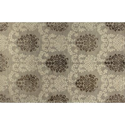 Pellegrin Hand-Tufted Taupe Area Rug Rug Size: 79 x 99