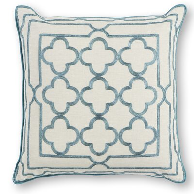 Darrah Cotton Throw Pillow Color: Teal
