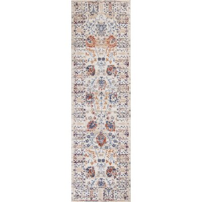Lappin Beige Area Rug Rug Size: Runner 23 x 76
