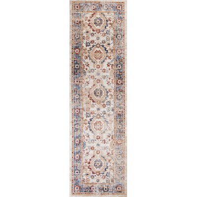 Lappin Transitional Ivory Area Rug Rug Size: Runner 23 x 76
