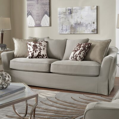 Blackwater Sofa Upholstery: Gray
