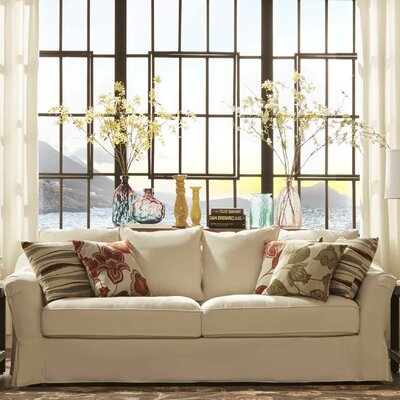 Blackwater Sofa Upholstery: Soft White