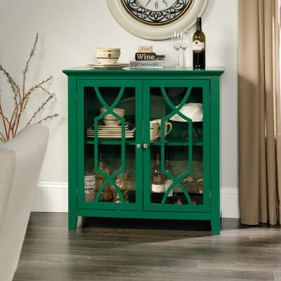 Black Mesa Display Accent Cabinet