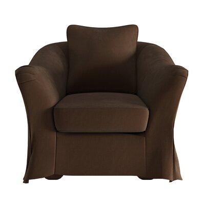 Blackwater Barrel Chair Upholstery: Brown