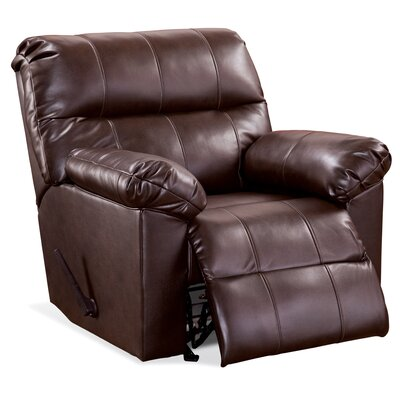 Serta Ravens Manual Recliner Upholstery: Chocolate