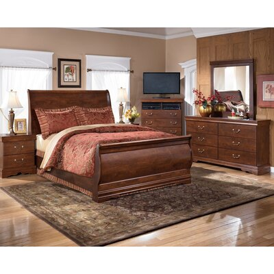 Wilmington Sleigh Footboard in Brown