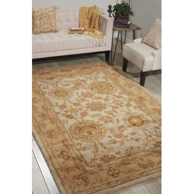Badger Mountain Ivory Area Rug Rug Size: 2 x 3