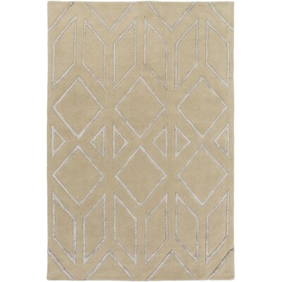 Baccus Beige Area Rug Rug Size: Rectangle 8 x 10