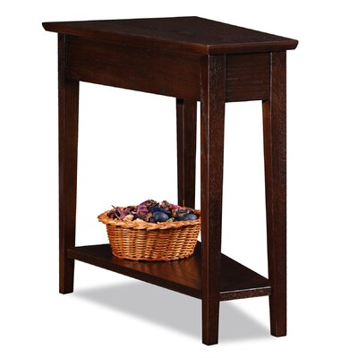 Rivendell End Table Color: Chocolate