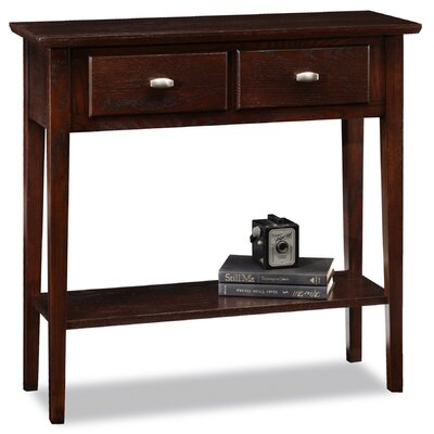 Robert Chocolate Oak Console Table