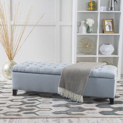 Amalfi Storage Ottoman Upholstery: Light Sky