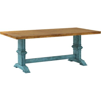 Fortville Dining Table Base Color: Dark Sea Green