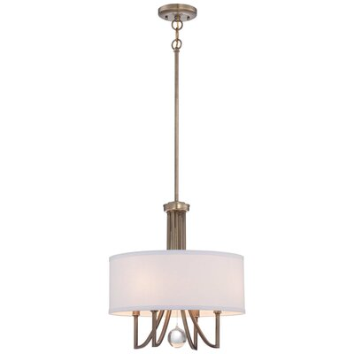 Tiltonsville 4-Light Drum Pendant