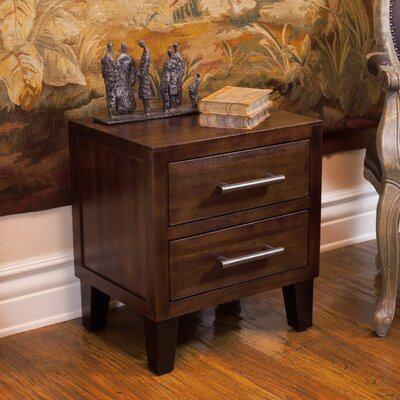 Davisson 2 Drawer Nightstand