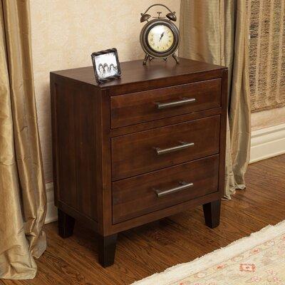 Braemar 3 Drawer Cabinet