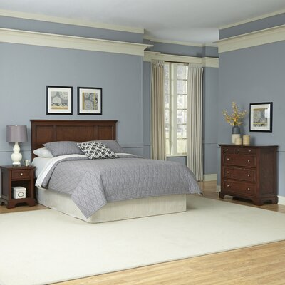 Borden Panel 3 Piece Bedroom Set Size: Queen