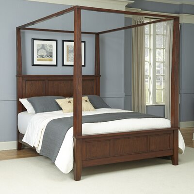 Borden Canopy Bed Size: King