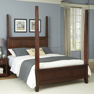 Borden Four poster Bed Size: King