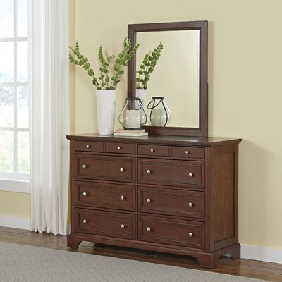 Borden 8 Drawer Dresser with Mirror