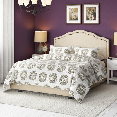 Kirwin Upholstered Panel Bed Size: California King