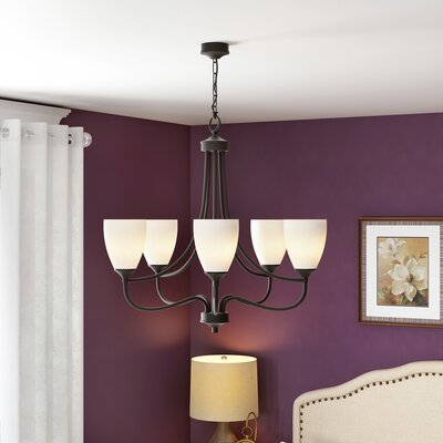 Grimshaw 5-Light Shaded Chandelier