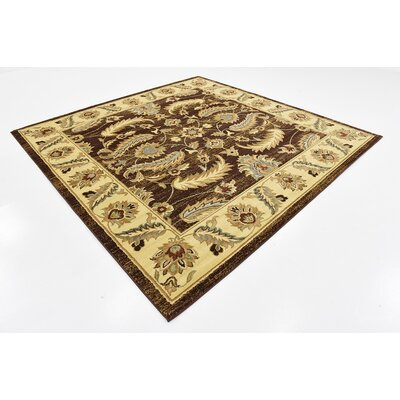 Badillo Brown Area Rug Rug Size: Square 8