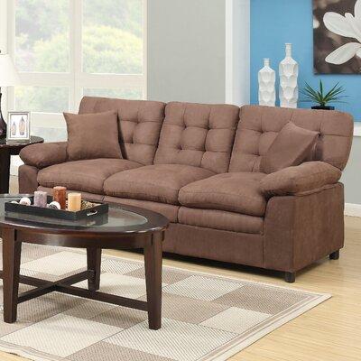 Barkingside Sofa Upholstery: Brown