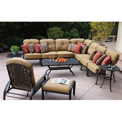 Lebanon 11 Piece Deep Seating Group with Cushion