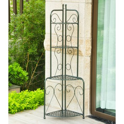 Snowberry Corner Baker's Rack Finish: Vertigris