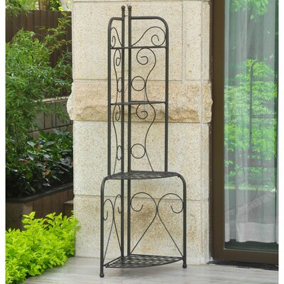 Snowberry Corner Baker's Rack Finish: Antique Black