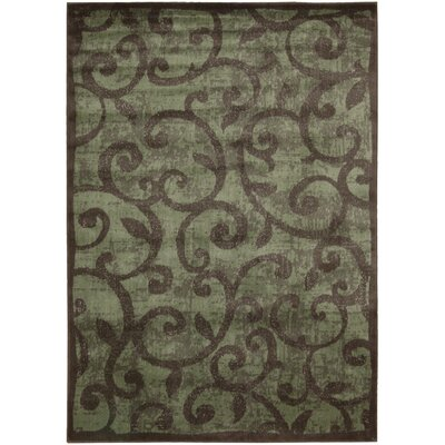 Baxter Brown Area Rug Rug Size: 53 x 75