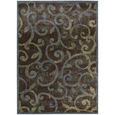 Sonya Gray Area Rug Rug Size: Rectangle 53 x 75