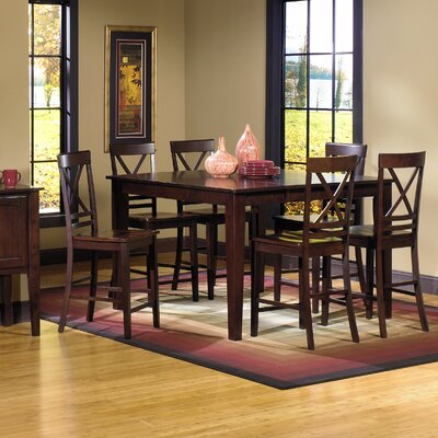 Baxter Springs 7 Piece Counter Heigh Dining Set
